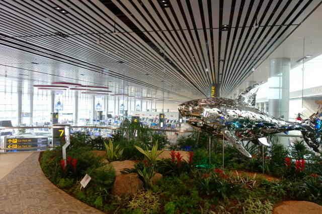 シンガポール・チャンギ空港 T4 ターミナル
